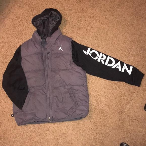 "264838ae111e62 Jordan Other - Boys Medium ""Air Jordan"" winter jacket"